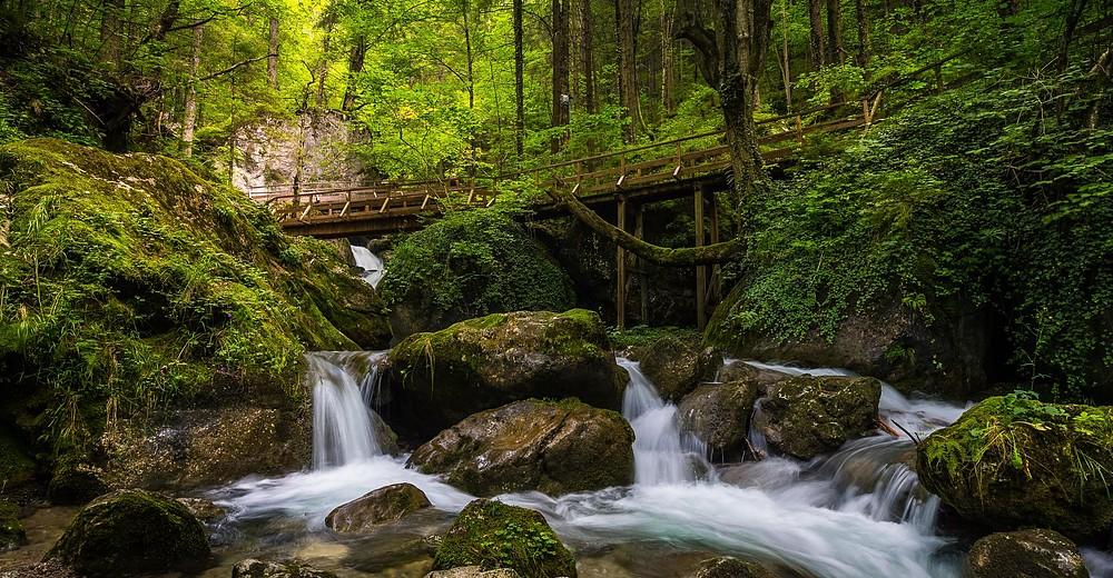 Wander und Wasserfälle